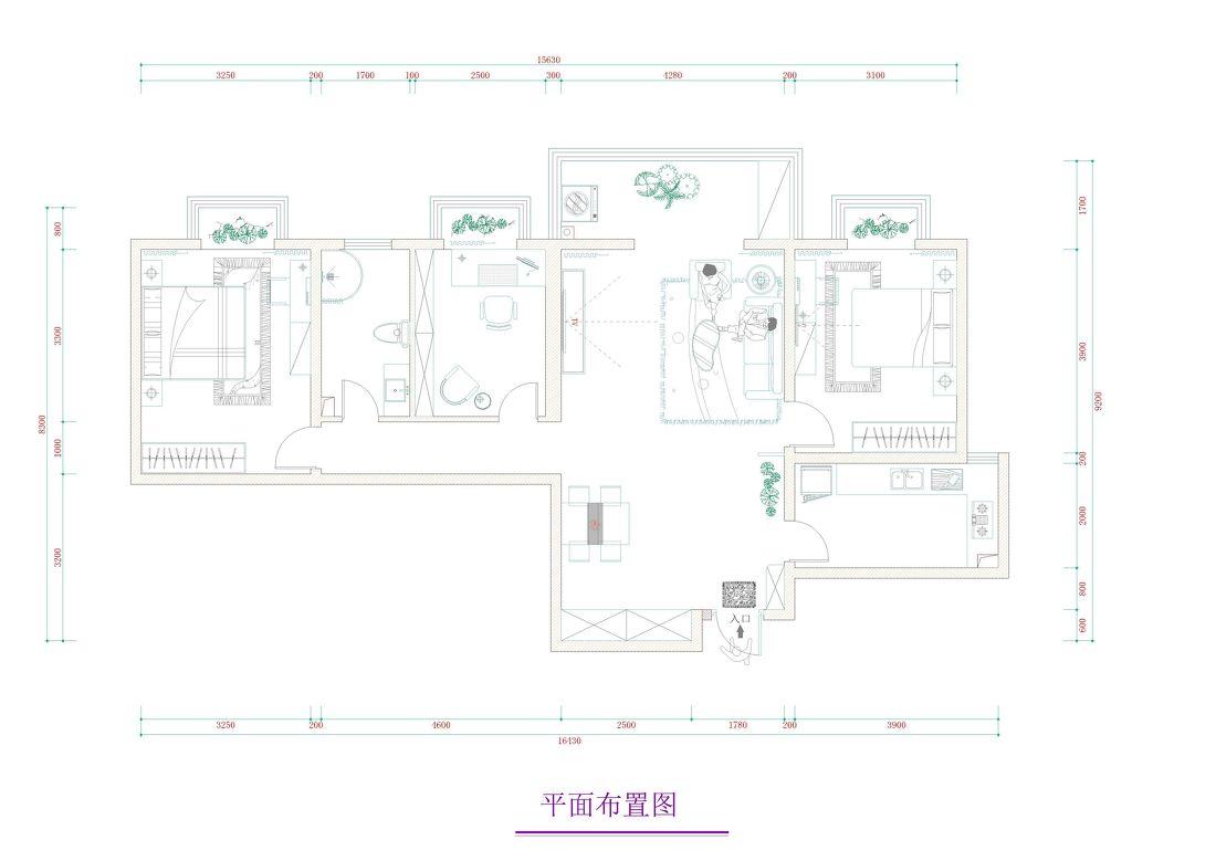 平客厅三居现代效果图片客厅现代简约客厅设计图片赏析