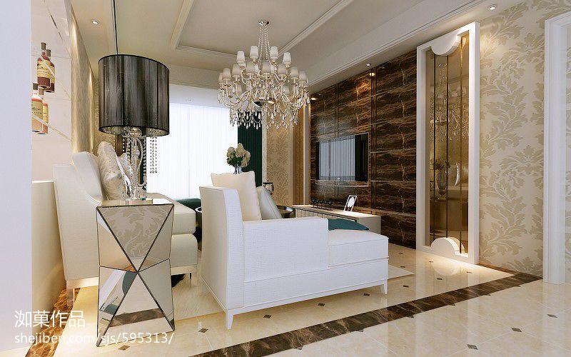 精美82平米二居客厅现代装修设计效果图片欣赏客厅现代简约客厅设计图片赏析