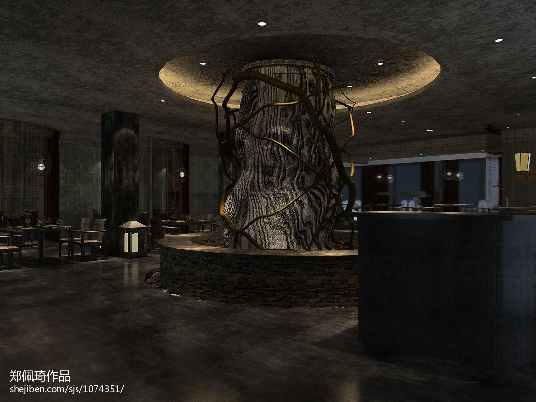 Lotus餐厅餐饮空间其他设计图片赏析