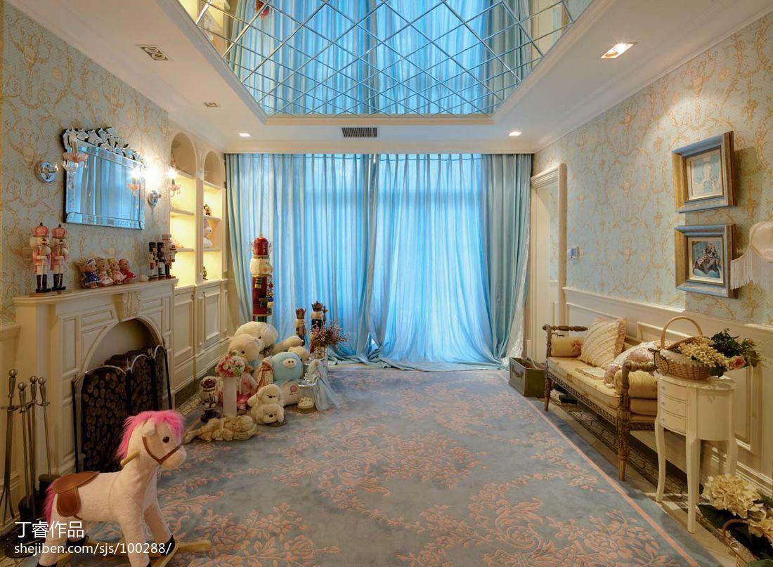2018精选欧式客厅装修效果图片客厅欧式豪华客厅设计图片赏析