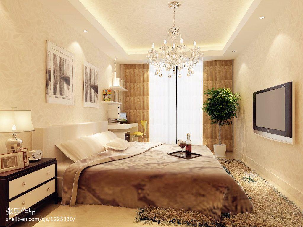 轻奢37平混搭小户型卧室效果图欣赏卧室潮流混搭卧室设计图片赏析