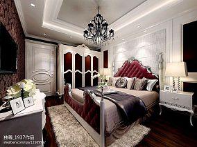 欧式卧室装修效果图片欣赏