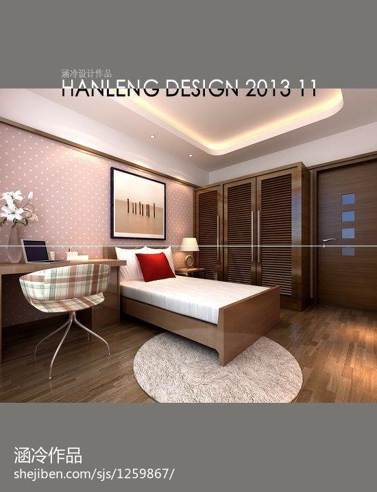 现代女孩房家具装修设计效果图办公空间其他设计图片赏析