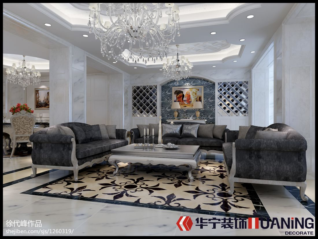 精美701平混搭别墅客厅图片欣赏客厅潮流混搭客厅设计图片赏析