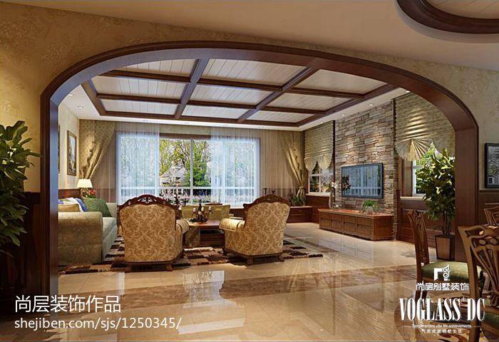 华丽822平别墅客厅装潢图客厅其他客厅设计图片赏析