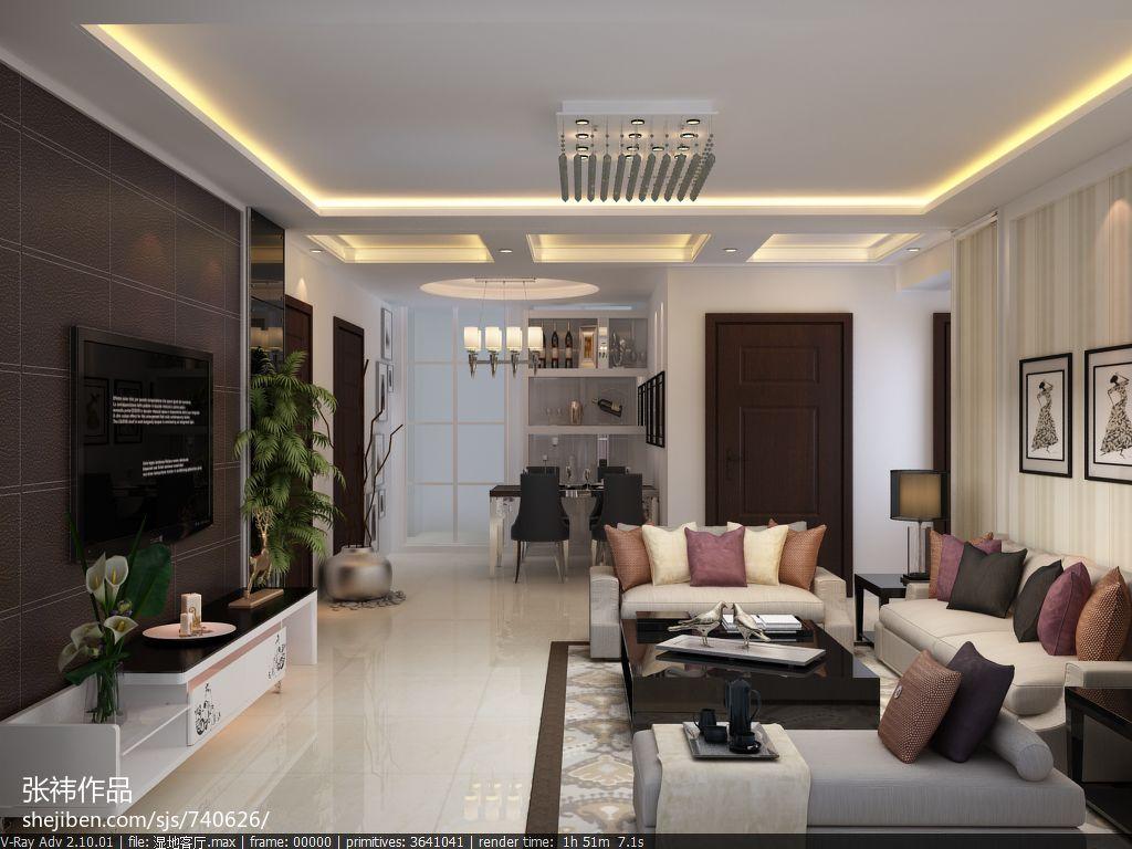保定锦天汇众装饰有限公司客厅现代简约客厅设计图片赏析