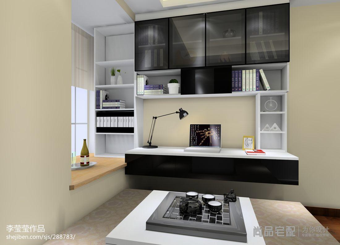 优美27平现代小户型儿童房装修设计图卧室现代简约卧室设计图片赏析