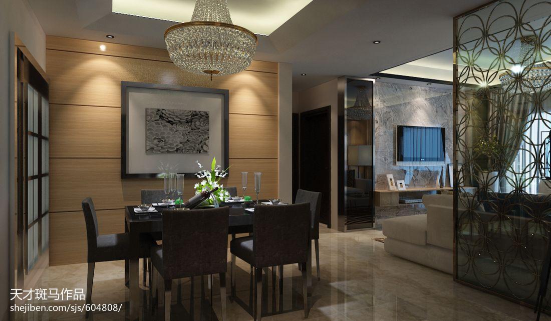 2018精选面积111平别墅餐厅现代装修设计效果图片大全厨房现代简约餐厅设计图片赏析