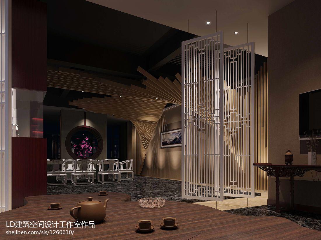 茶室设计餐饮空间设计图片赏析