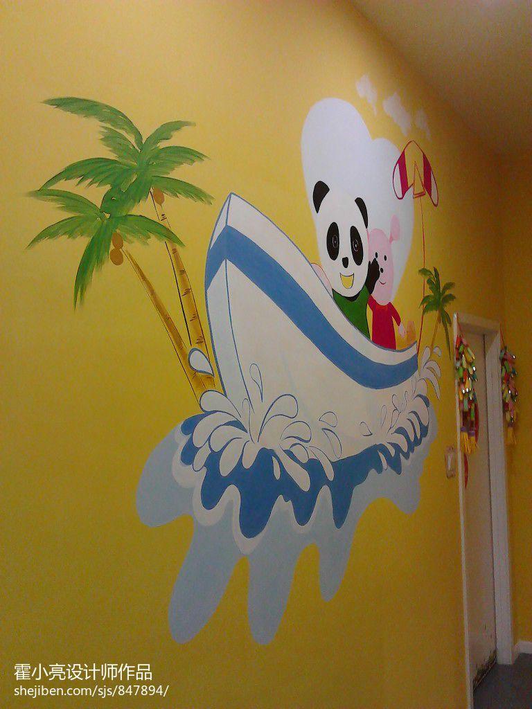 卡通幼儿园主题墙布置图教育机构其他设计图片赏析