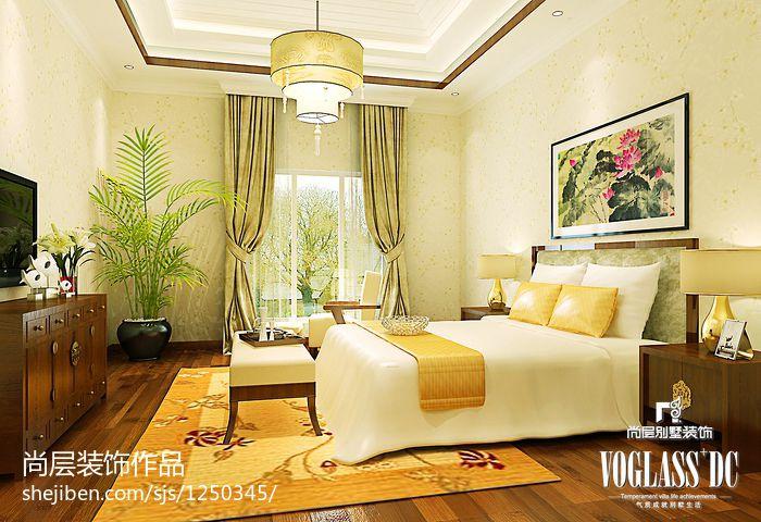 精选别墅卧室美式效果图片大全卧室美式经典卧室设计图片赏析