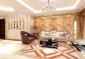 现代简约三居室相片墙装修案例