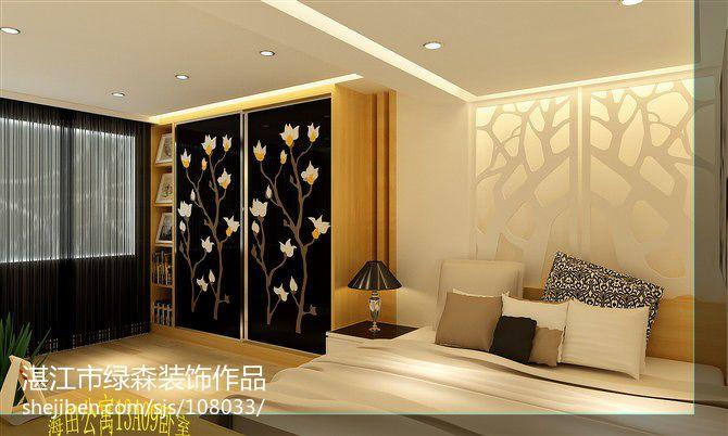 平方三居卧室现代欣赏图片大全卧室现代简约卧室设计图片赏析