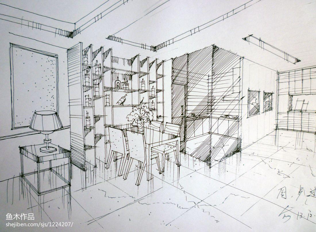 浪漫148平现代四居餐厅设计效果图厨房现代简约餐厅设计图片赏析