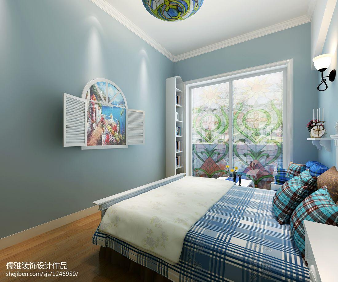 华丽129平中式四居卧室图片欣赏卧室中式现代卧室设计图片赏析