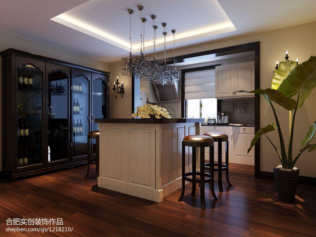 温馨121平欧式三居餐厅装饰图片欧式豪华设计图片赏析