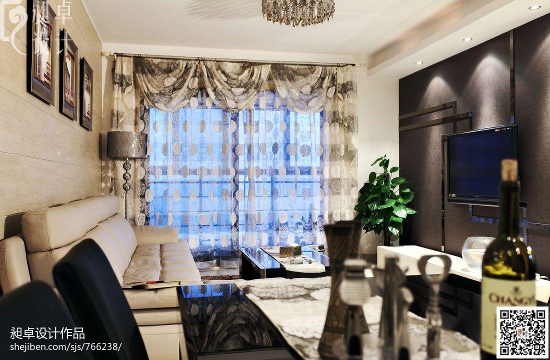 精选大小97平现代三居客厅装修效果图客厅现代简约客厅设计图片赏析