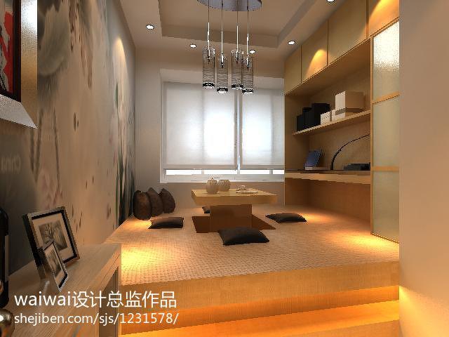 华丽23平现代小户型休闲区装修设计图功能区现代简约功能区设计图片赏析