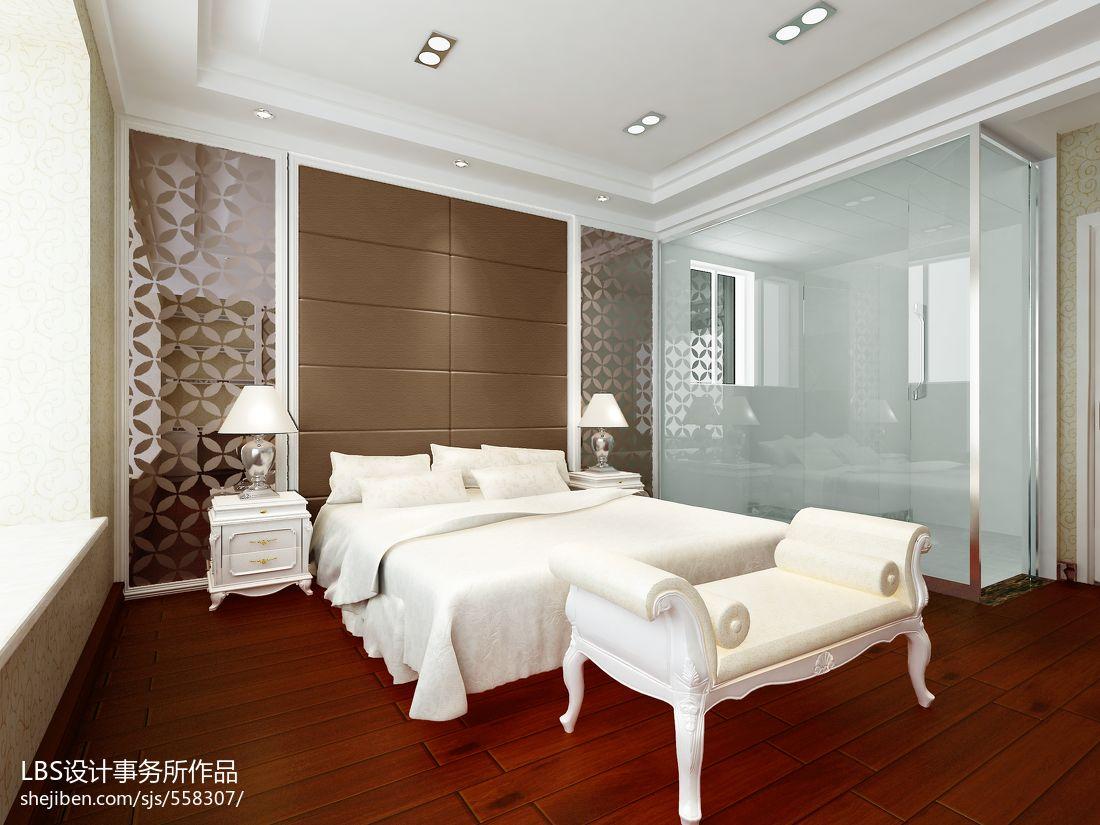 热门面积127平现代四居卧室装修图片大全卧室现代简约卧室设计图片赏析