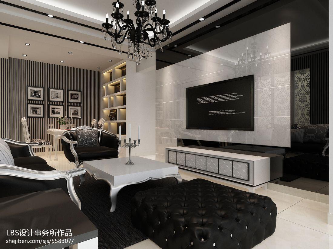 2018精选面积141平现代四居客厅装修图片大全客厅现代简约客厅设计图片赏析