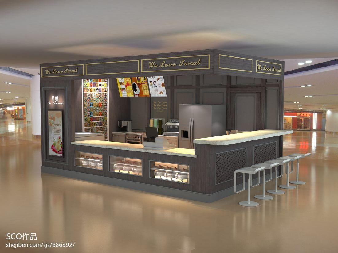 甜品店商业展示其他设计图片赏析
