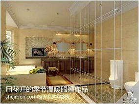 清新90平米三房两厅图片