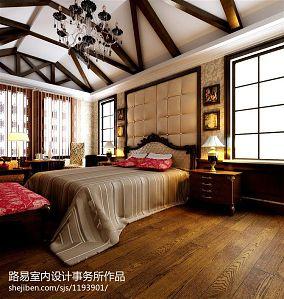 欧式卧室装潢效果图