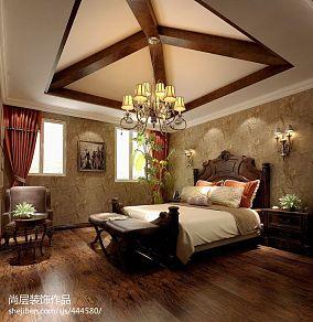 温馨简约风格三居室卧室设计案例