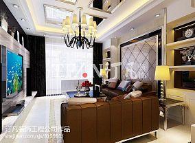 简欧风格豪华客厅设计图大全