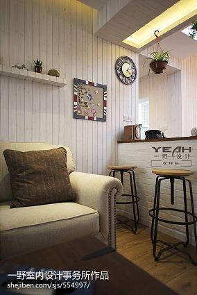 热门78平米混搭小户型客厅装修设计效果图片欣赏