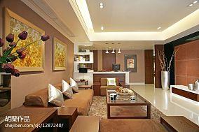 现代简约风格客厅局部设计装修大全