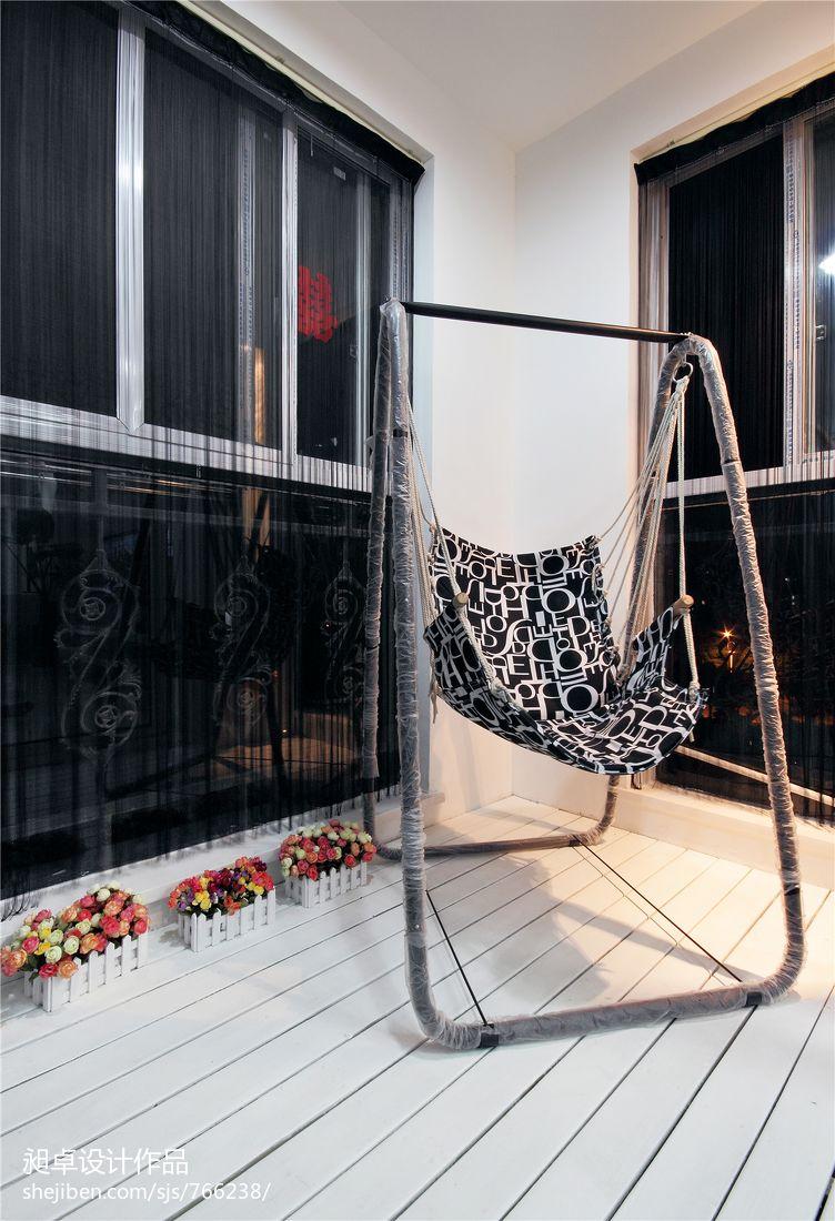 现代风格家装阳台装修效果图大全现代简约设计图片赏析