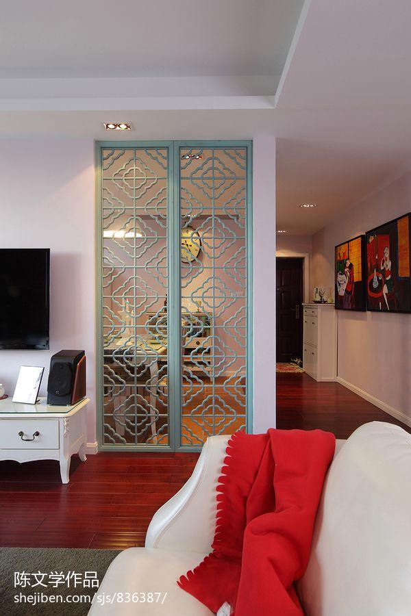 新古典家装过道玄关鞋柜装修设计效果图美式经典设计图片赏析