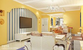 精选面积71平地中海二居客厅装修图片
