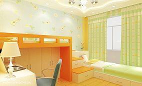 精选面积80平地中海二居儿童房设计效果图