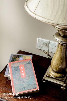 精美复式卧室美式设计效果图