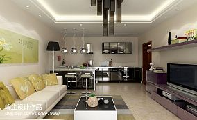 现代简约风格设计客厅装修效果图片