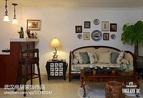 精选144平米中式别墅客厅欣赏图