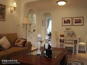 2018二居客厅东南亚欣赏图片大全