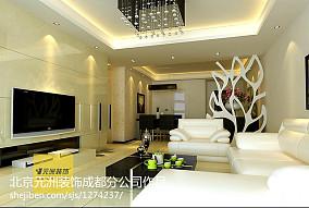 三居室简欧风格装修效果图