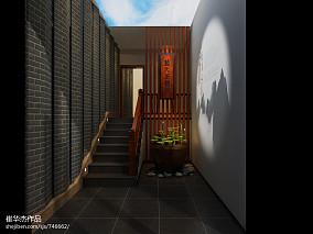 客厅中式博古架