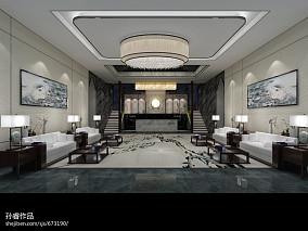 华丽110平米三室两厅两卫图片