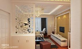 面积89平新古典二居客厅装修设计效果图