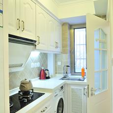 热门74平米地中海小户型厨房装修实景图片大全
