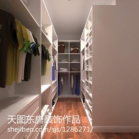美式88平米两室两厅装修