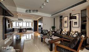 热门93平米三居客厅现代装饰图片大全