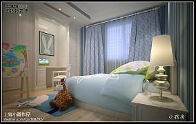热门新古典复式儿童房设计效果图