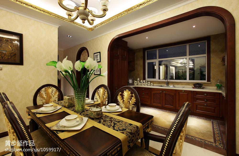 欧式厨房餐厅门头造型设计
