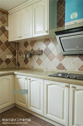 精选137平米美式复式厨房装修图片大全