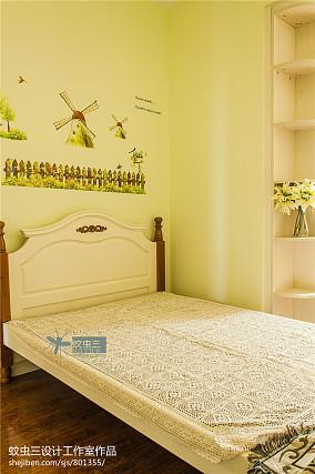 精美115平米美式复式儿童房效果图片大全